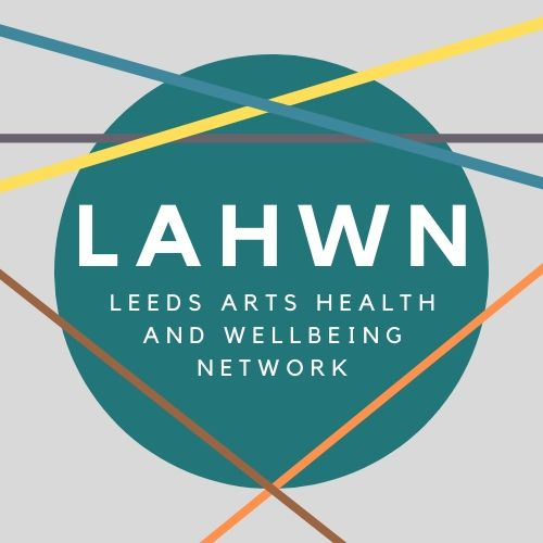 Logo for the Leeds Arts, Health and Wellbeing Network