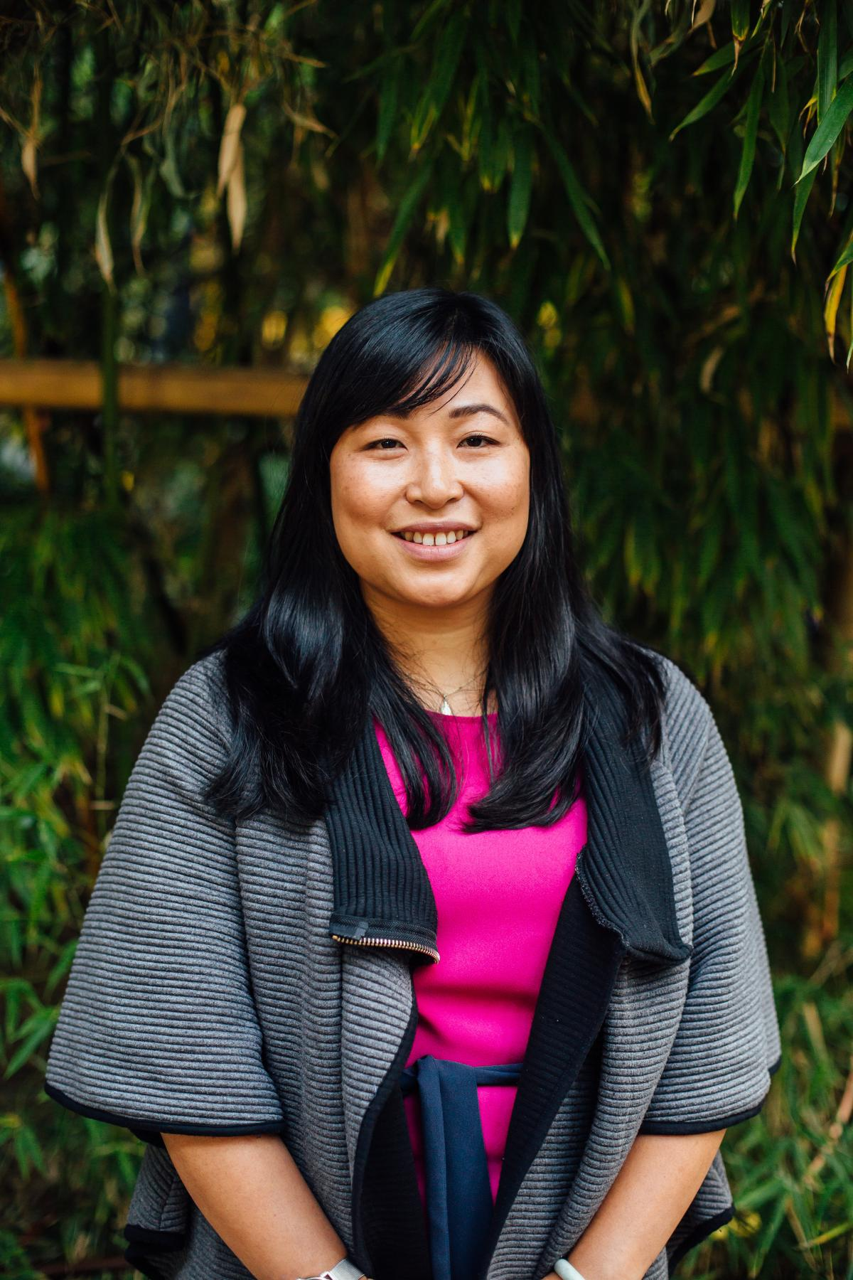A portrait of Thanh Sinden