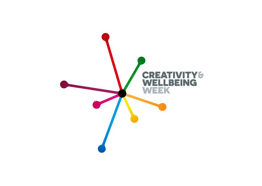 Logo for Creativity & Wellbeing Week
