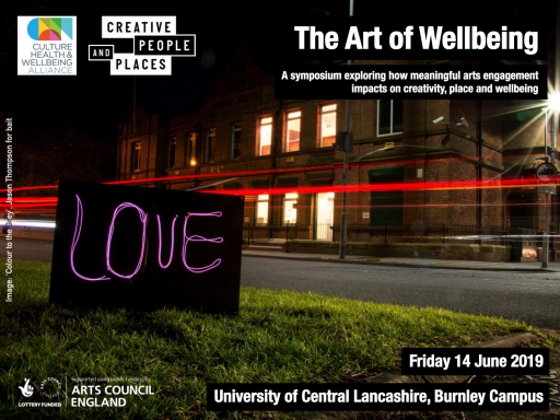 Flyer for the Art of Wellbeing